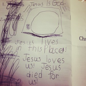 Seeing sermon notes like this are such a joy!